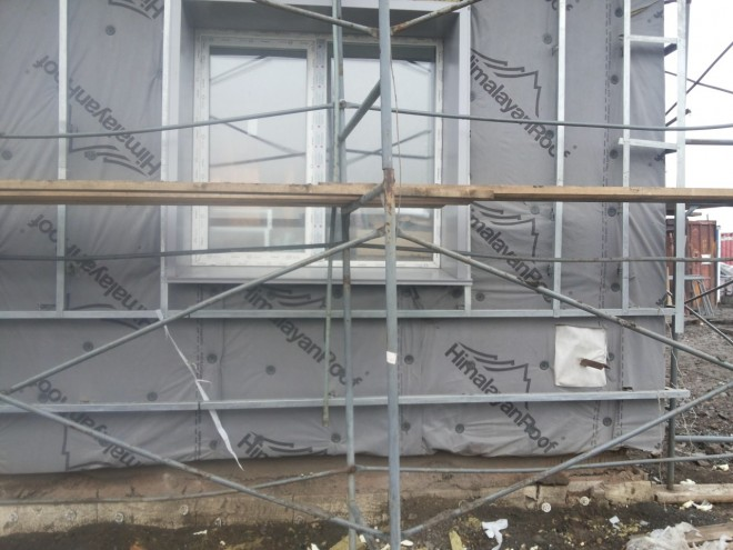 Устройство фасадов в Новокузнецке